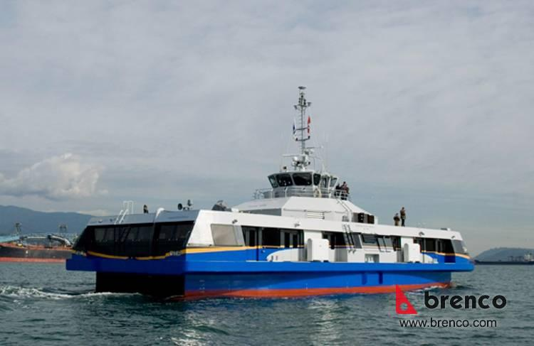 Pacific Breeze Seabus Vancouver Metal Fabrication
