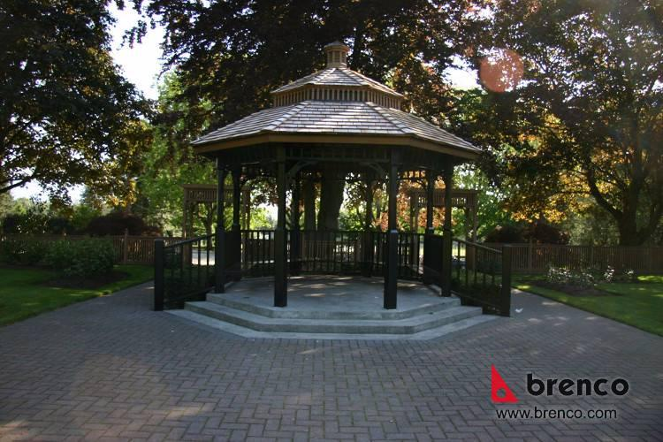 Queens Park Gazebo New Westminster Vancouver Metal