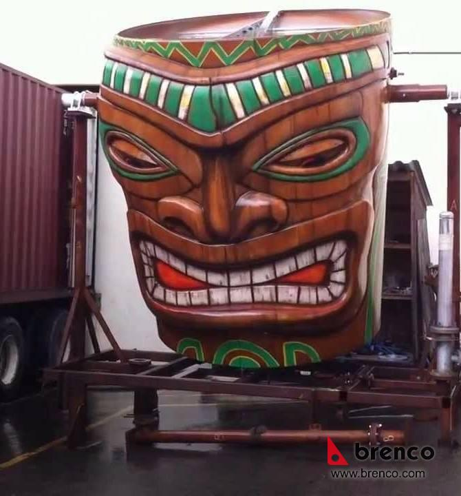 Waterpark Tipping Buckets Vancouver Metal Fabrication