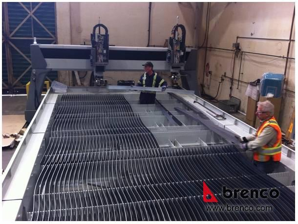 Brenco's New Waterjet Metal Cutting Table | Brenco Industries